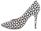 Isabel Marant Printed Canvas Pumps