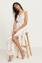 Dynamite Floral Maxi Dress with Ruffles