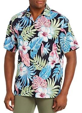 Tommy Bahama Konkan Jungle Silk Regular Fit Short-Sleeve Shirt