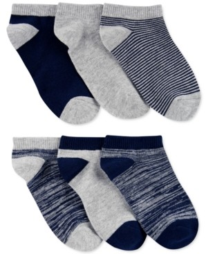 Carter's Little & Big Boys 6-Pk. Ankle Socks