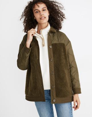 Madewell Hybrid Sherpa Jacket