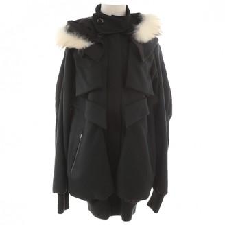 Felipe Oliveira Baptista \N Black Wool Coat for Women