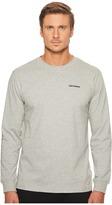 Converse Long Sleeve Graphic Wordmark Tee Men's T Shirt