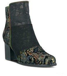 L'Artiste Women's Jewells Floral Look Booties Women's Shoes