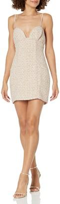 For Love & Lemons Women's Tweed Mini Dress