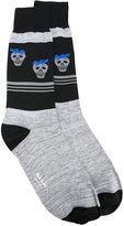Paul Smith Red Ear strawberry skull socks