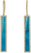 Jennifer Meyer Women's Rectangular-Bar-Drop Earrings