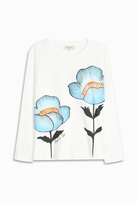 Paul & Joe Floral T-shirt