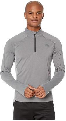 The North Face Essential 1/4 Zip (TNF Medium Grey Heather) Men's Clothing