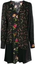 McQ Panelled Floral Dress