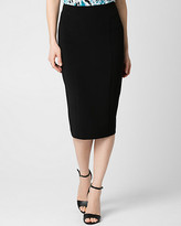 Le Château Double Weave Midi Skirt