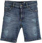 Dolce & Gabbana Vintage Stretch Denim Shorts