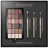 Makeup Revolution HD Pro Eye Shadow & Brush Set