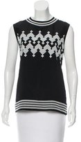 Derek Lam Embroidered Novelty Top w/ Tags