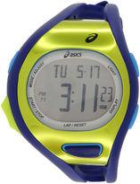 Asics Blue/Green Ar07 Runner Unisex Multicolor Strap Watch-Cqar0704y