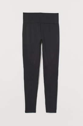 H&M Seamless sports tights