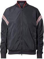 adidas by Stella McCartney Train Striped Shell Jacket - Charcoal
