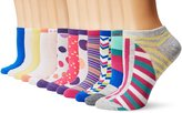 K. Bell K-Bell Women's Low Cut No Show Liner Sock 12 Pack
