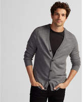 Express merino wool blend thermal regulating cardigan