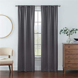 Eclipse Kerry Geo Energy Saving out Rod-Pocket Set of 2 Curtain Panel