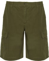 ImpEx12 Men's Bermuda Shorts With Side Pockets - Work Utility Leisure - 100% Cotton - Size: M