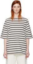 Acne Studios Ecru Striped Dani T-shirt