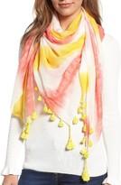 Rebecca Minkoff Women's Tie Dye Square Scarf