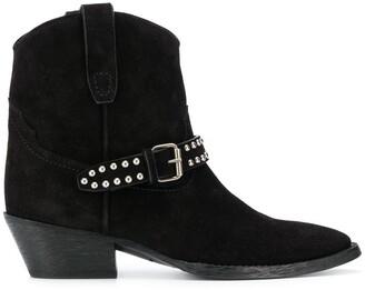 Saint Laurent West buckled boots