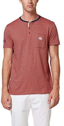 Esprit Men's 078ee2k010 T-Shirt,Large