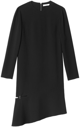 Tibi Asymmetric Hem Shift Dress