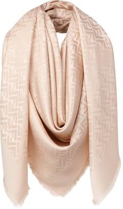 Fendi FF motif jacquard scarf