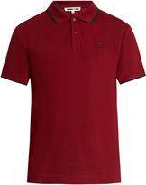 McQ by Alexander McQueen Icon logo-print cotton polo shirt