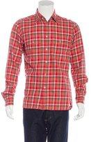 Tom Ford Plaid Flannel Shirt