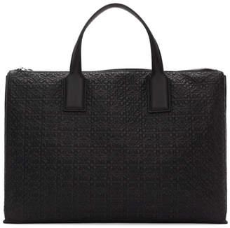 Loewe Black Goya Simple Briefcase
