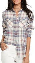 Denim & Supply Ralph Lauren Linen and Cotton Blend Utility Shirt
