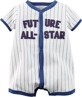 "Carter's Baby Boys' ""Future All-Star"" Romper"