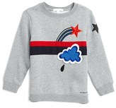 Burberry Boy's Embroidered Applique Sweater