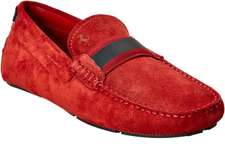 Tod's TodS X Ferrari Suede Driver