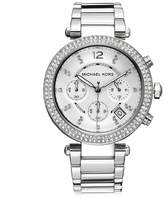 Michael Kors Michael Kor Women's Parker Silver-Tone Watch MK5353