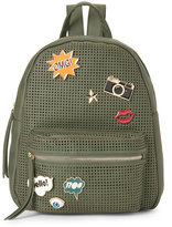 Imoshion Olive Embellished Perforated Backpack