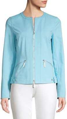 Lafayette 148 New York Cairo Zip-Up Jacket