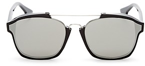 Christian Dior Women's Abstract Square Mirrored Sunglasses, 58mm