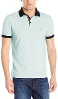 Nautica Men's Slim-Fit Solid Pique Polo Shirt