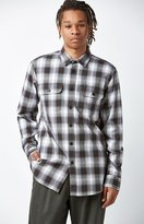 Obey Kemper Plaid Flannel Long Sleeve Button Up Shirt