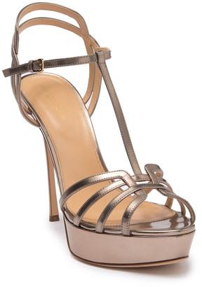 Sergio Rossi T-Strap Stiletto Sandal