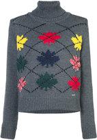 DSQUARED2 roll neck sweatshirt