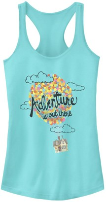 """Disney Juniors' Pixar Up """"Adventure Is Out There"""" Racerback Tank"""