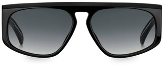 Givenchy 55MM Flat-Top Gradient Acetate Sunglasses