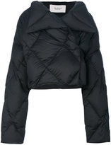 Pringle cropped quilted puffa jacket