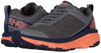 Hoka One One Challenger ATR 5 (Charcoal Gray/Fusion Coral) Women's Shoes